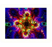 Fired Synapse of the Holographic Mind Art Print