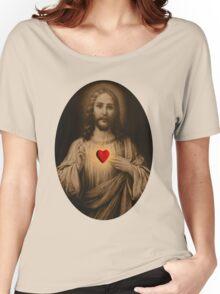 )̲̅ζø̸√̸£  HEARTFELT TEAR OF LOVE TEE SHIRT )̲̅ζø̸√̸£ Women's Relaxed Fit T-Shirt