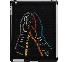 Applause [ Print / Iphone / Ipad / Ipod ] iPad Case/Skin
