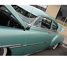 1951 Fleetline; Historical Front Street 12th Annual Car Show, Norwalk, CA USA Photographic Print