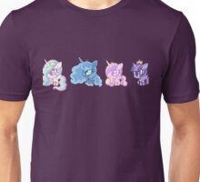 Weeny My Little Pony- Princesses Unisex T-Shirt