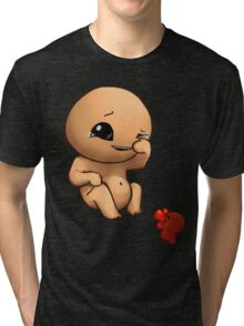The Binding of Isaac - Isaac and Lil Chubby Tri-blend T-Shirt