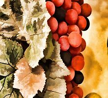 Grapes On My Phone by tvlgoddess