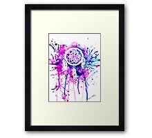 Shaping Dreams (White) Framed Print