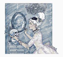 Marie Antoinette Halloween Blue by tiffanyraccio