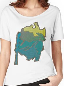 Colored abstract Design Women's Relaxed Fit T-Shirt