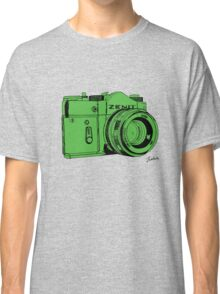Green Russian Camera Classic T-Shirt