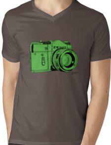 Green Russian Camera Mens V-Neck T-Shirt