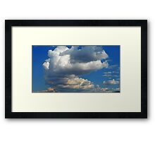 ©HCS Merge To Sky Framed Print