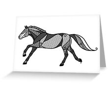 The Dappled Grey Mare Greeting Card