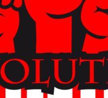Revolution Graffiti Design Sticker