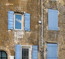 six shutters by Anne Scantlebury