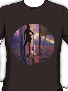☝ ☞ SAILING WITH A VIEW TEE SHIRT☝ ☞ T-Shirt