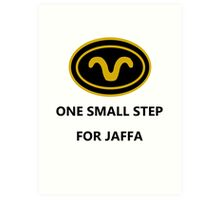One Small Step for Jaffa Art Print