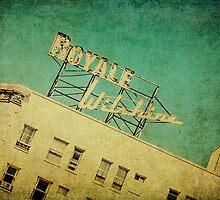 1926 Wilshire Royale Art Deco Vintage Sign  by Honey Malek