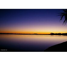 Maroochydore Qld August 2013 - The River at Cotton tree Photographic Print