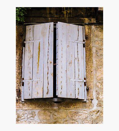 shutters Photographic Print