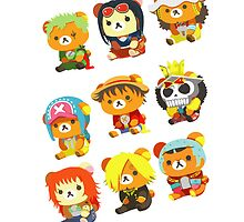 One Piece - Mugiwara Crew [Iphone] by Sandy W