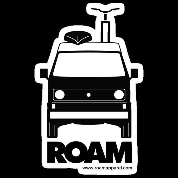 ROAM Westy Campervan Sticker by ROAM  Apparel
