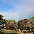 Over the rainbow- Kansas's Rock City by Forget-me-not
