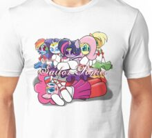 The Sailor Ponies Unite! Unisex T-Shirt
