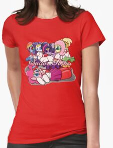 The Sailor Ponies Unite! Womens Fitted T-Shirt
