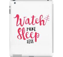 Watch/Sleep 2 iPad Case/Skin