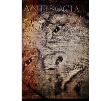 AntiSocial Photographic Print