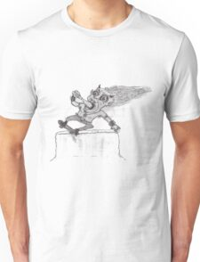 Skatan Beer Bash Barrier Slash 666 Unisex T-Shirt
