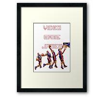Video game James Framed Print