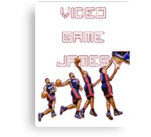 Video game James Canvas Print