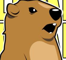 Allan Groundhog Sticker