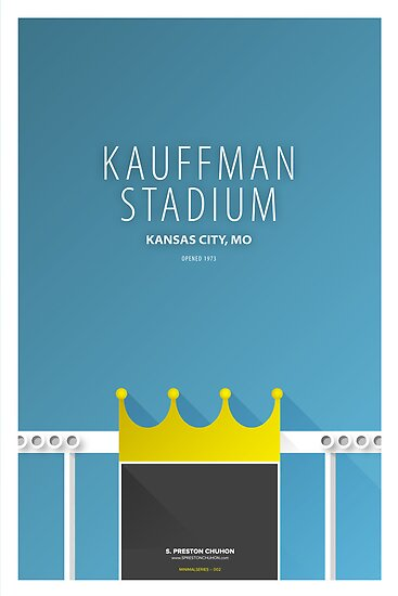 Minimalist Kauffman Field - Kansas City by pootpoot