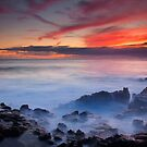 Red Sky Kauai by DawsonImages