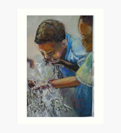 Madzi Art Print