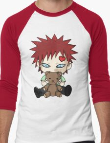 Chibi Love Boy Men's Baseball ¾ T-Shirt