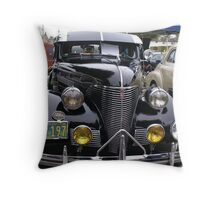 1939 Chevrolet; Historic Front Street 12th Annual Car Show, Norwalk, CA USA Throw Pillow