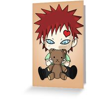 Chibi Love Boy Greeting Card