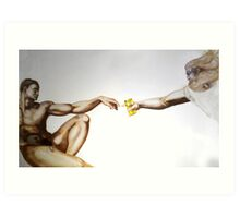 Beer of the Gods Art Print