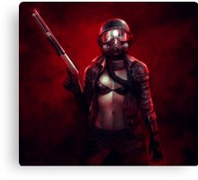 Red Apocalypse Canvas Print