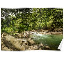 Costa Rican RIver HDR Poster
