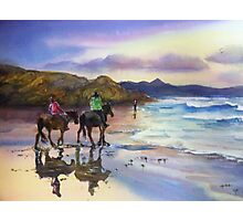 Beach Ride Byron Bay Photographic Print