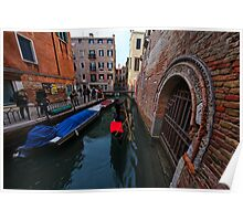 Venice City Lovers in Winter  Poster