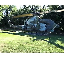 Bell AH-1J Helicopter Photographic Print