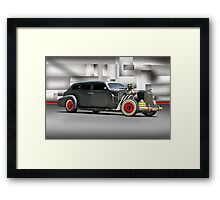 'Big Louie' The Rat Cad Framed Print