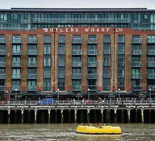 Butler's Wharf, London by Andrew Robinson