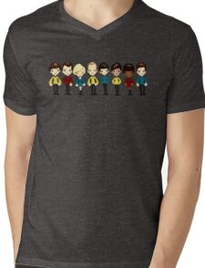 Space, the final frontier Mens V-Neck T-Shirt