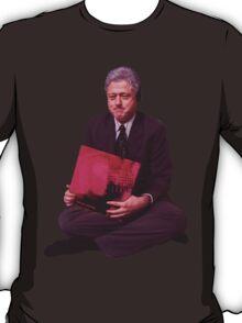 Bill Clinton Listens To Music T-Shirt