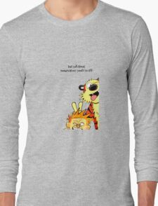 calvin and hobbes christmas Long Sleeve T-Shirt