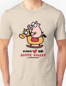 KINO loves Hong Kong - Happy Valley Unisex T-Shirt